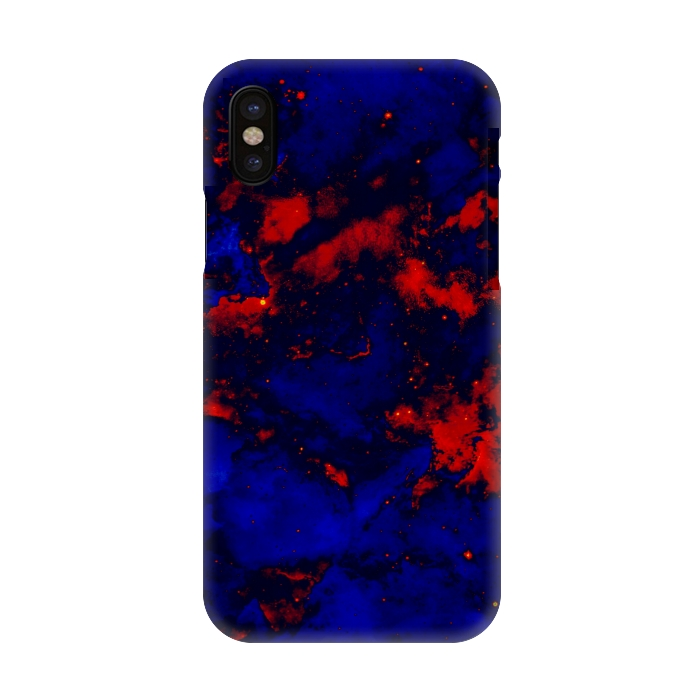 newest 87378 e334a iPhone X Cases Blue red by Jms | ArtsCase