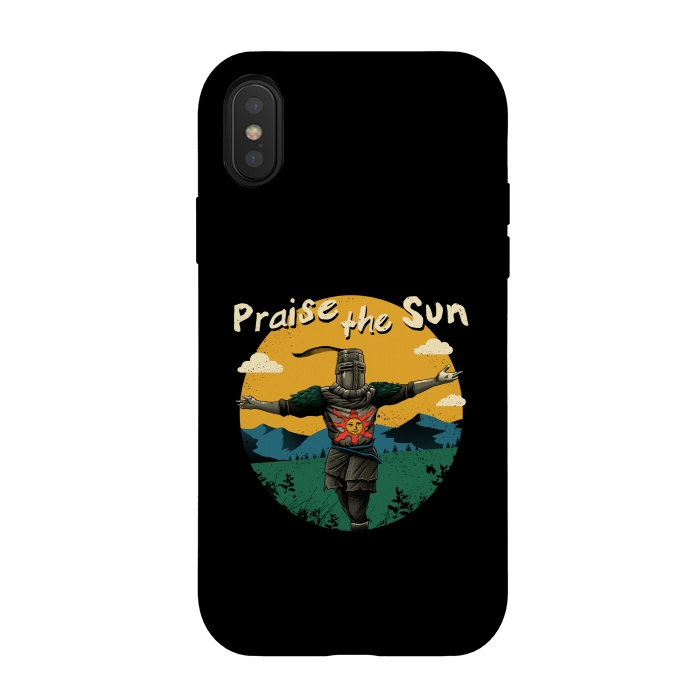 iphone xs case dark souls