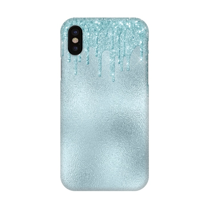 super popular f436e ce9cd iPhone X Cases Ice Blue by Utart | ArtsCase