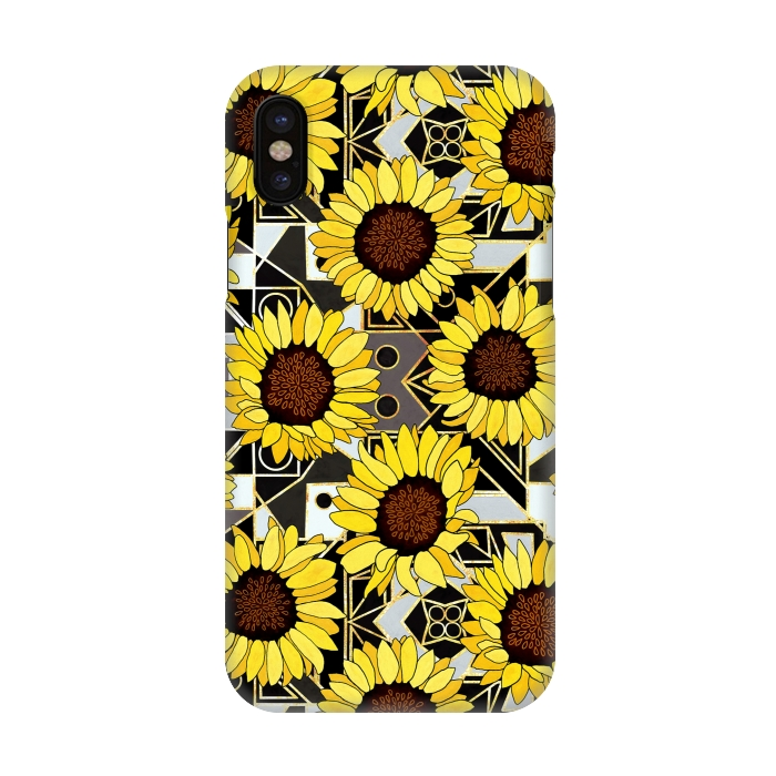 info for 10db5 d4b5c iPhone X Cases Sunflowers & by Tigatiga | ArtsCase