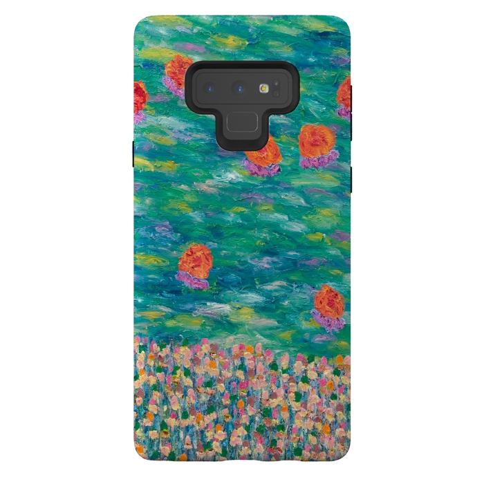 official photos 9a347 2a3a8 Galaxy Note 9 Cases Cheerful Orange by Helen Joynson | ArtsCase