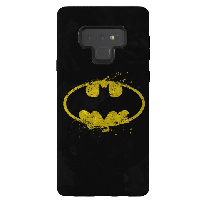 pretty nice ac53a 7ca3c Galaxy Note 9 Cases Batman's Splash by Sitchko Igor | ArtsCase
