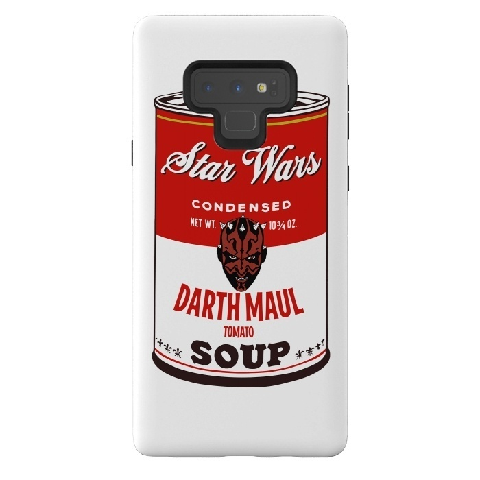 Star Wars Campbells Soup Darth Maul