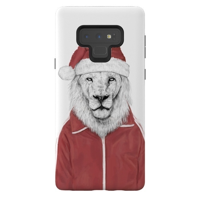 Santa lion