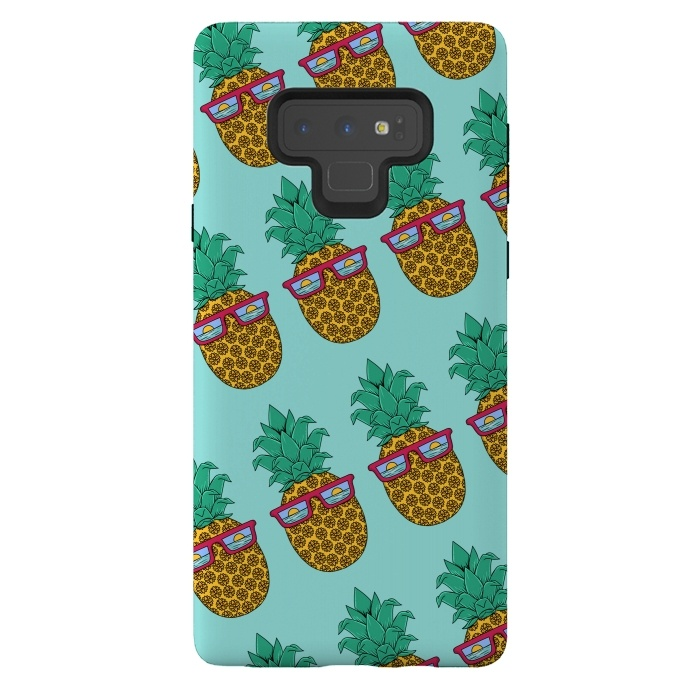 Floral Pineapple pattern