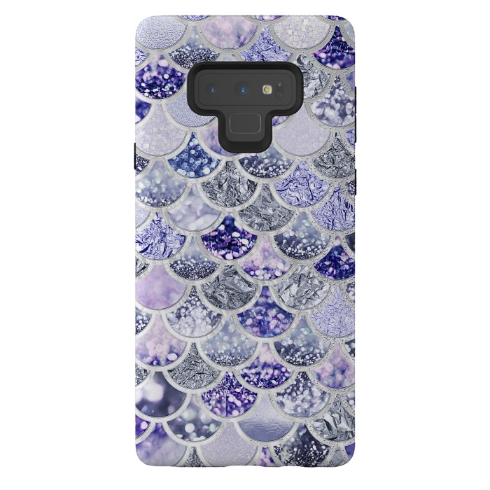 Multicolor Purple & Violett Mermaid Scales