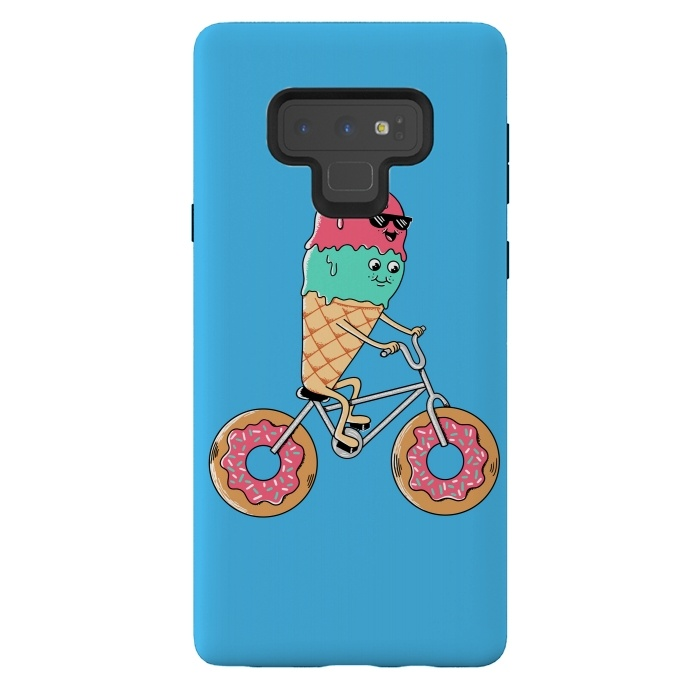 Donut Bicycle Blue