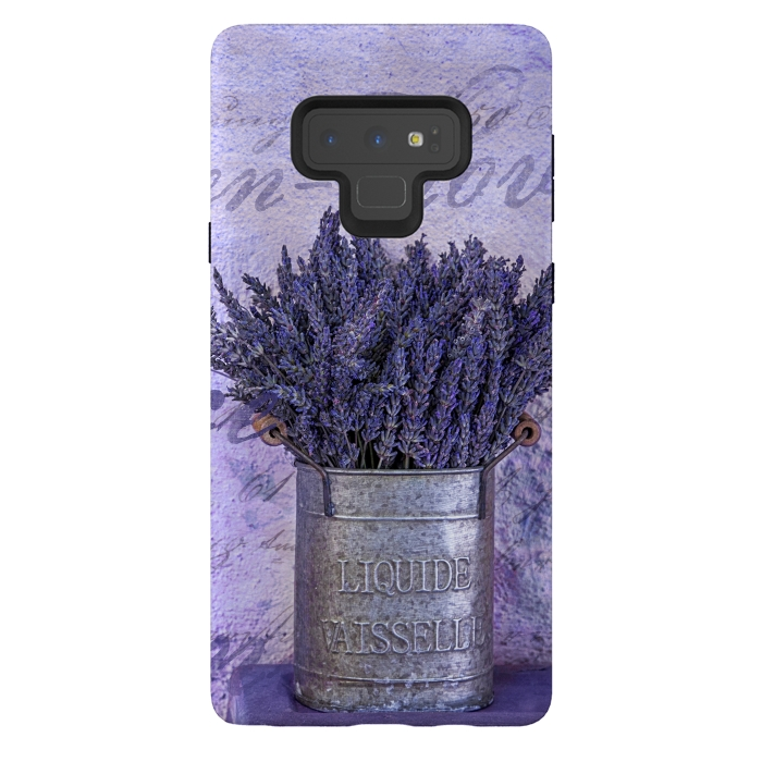 Lavender Bouquet In Tin Can