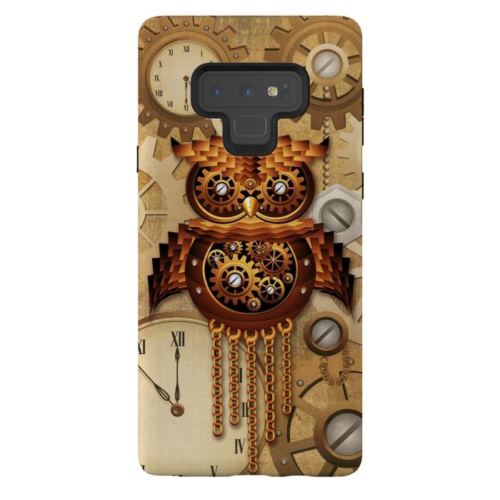 Owl Steampunk Vintage Style