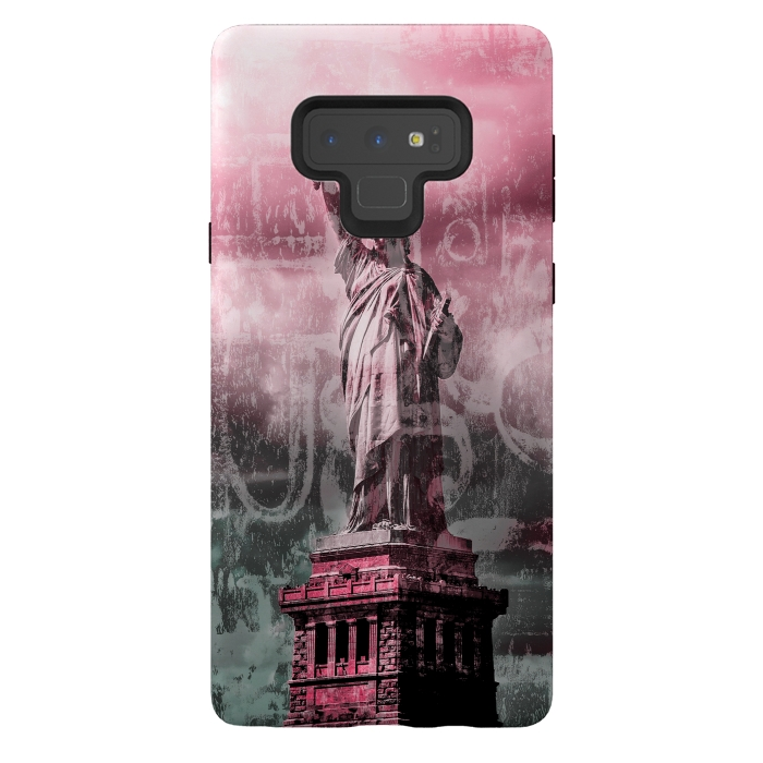 Statue Of Liberty Mixed Media Art