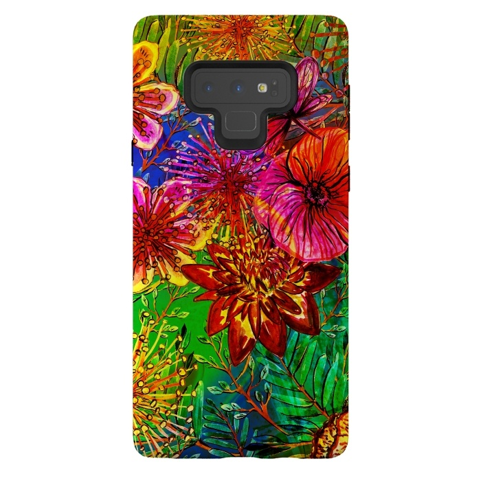 Colorful Flower Jungle