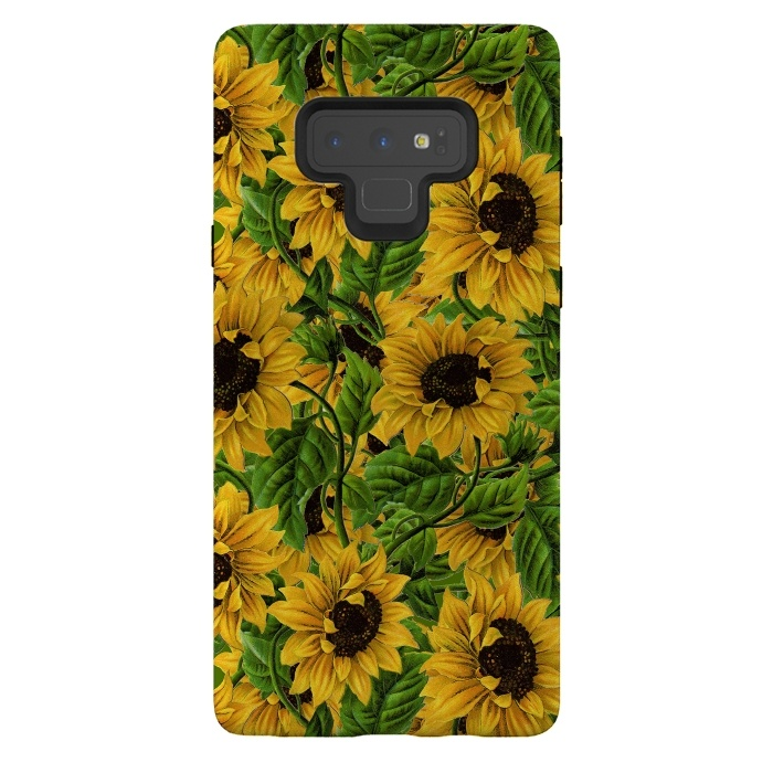 Vintage Sunflower Pattern