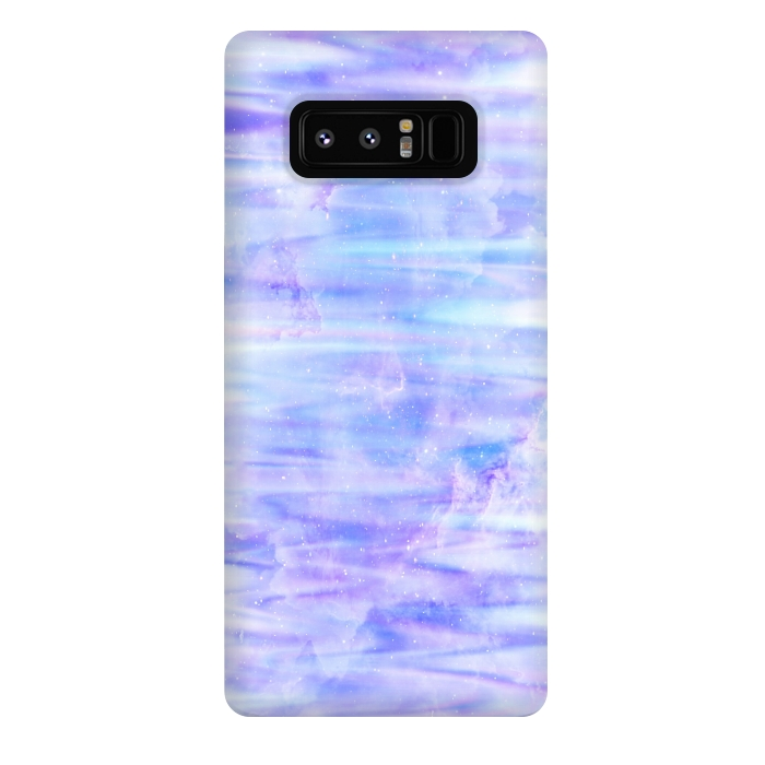 Purple galaxy marble