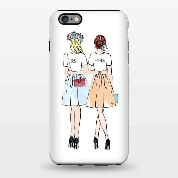 timeless design aa025 69329 iPhone 6/6s plus Cases Best friends by Martina | ArtsCase