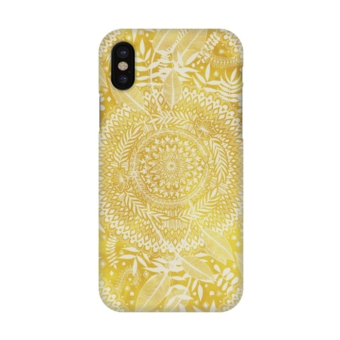 hot sale online 55c84 f7208 iPhone X Cases Medallion Pattern by Micklyn Le Feuvre | ArtsCase