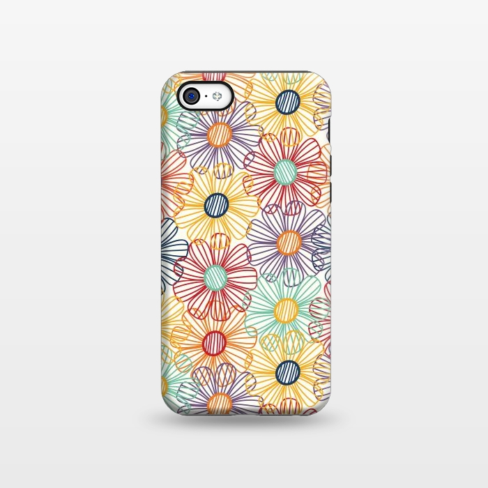 purchase cheap 4901c a15d3 iPhone 5C Cases RAINBOW FLORAL by TracyLucy Designs | ArtsCase