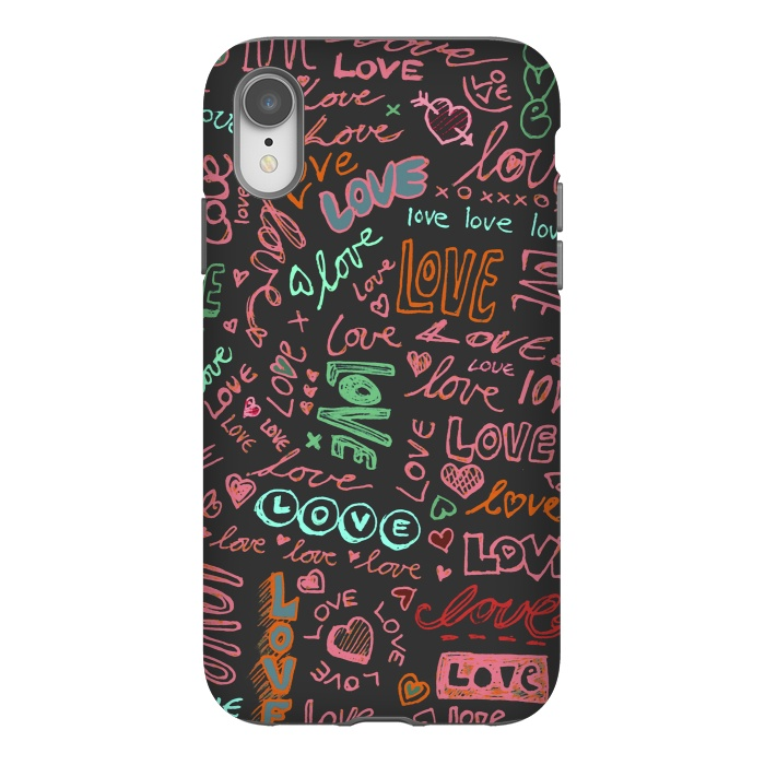 Love Love Love ballpoint doodles