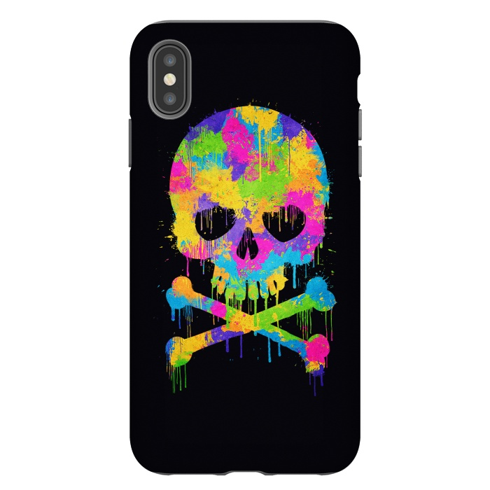 Grafitti Watercolor Skull
