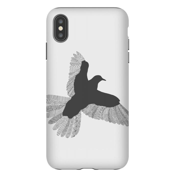 Bird Grey Poster Grey