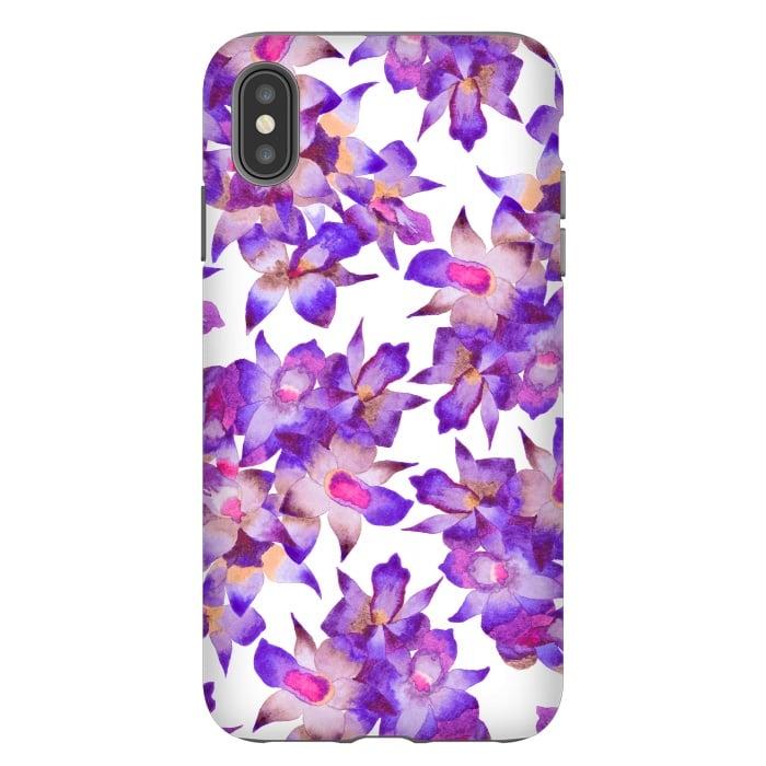 Vintage Floral Violet