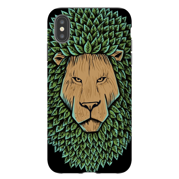 Wood Lion