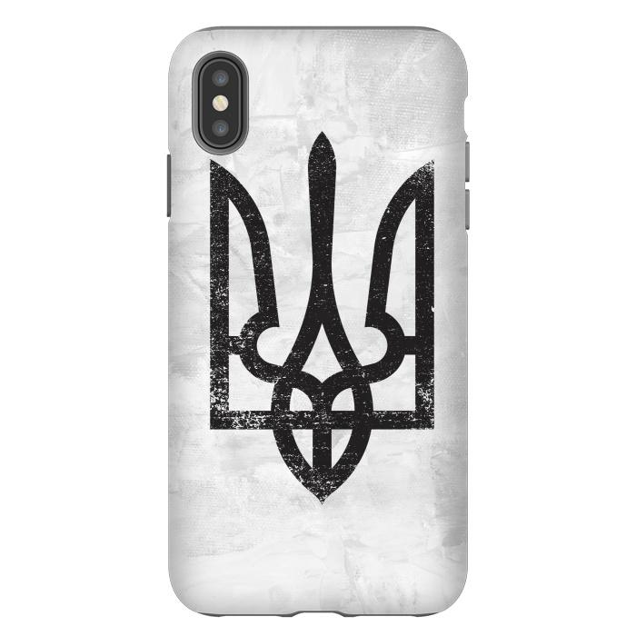Ukraine White Grunge