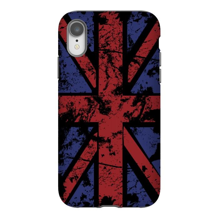 Grunge UK Flag Black
