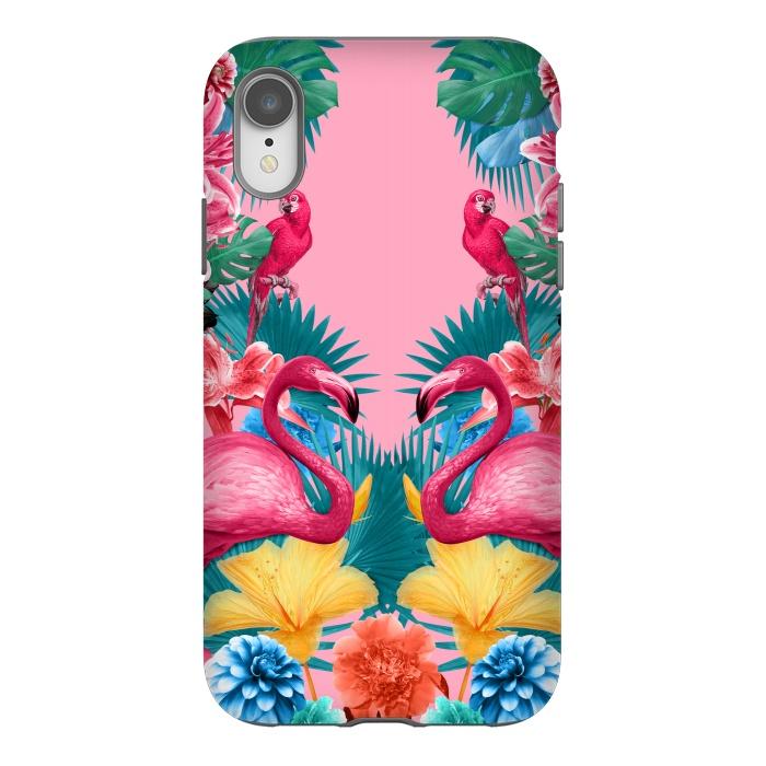 Flamingo and Tropical garden
