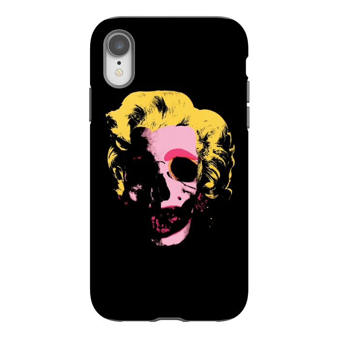 Marilyn Monroe Pop Art Skull