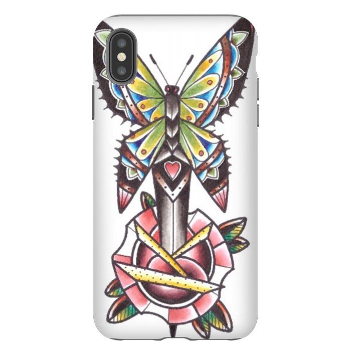 Butterfly dagger rose