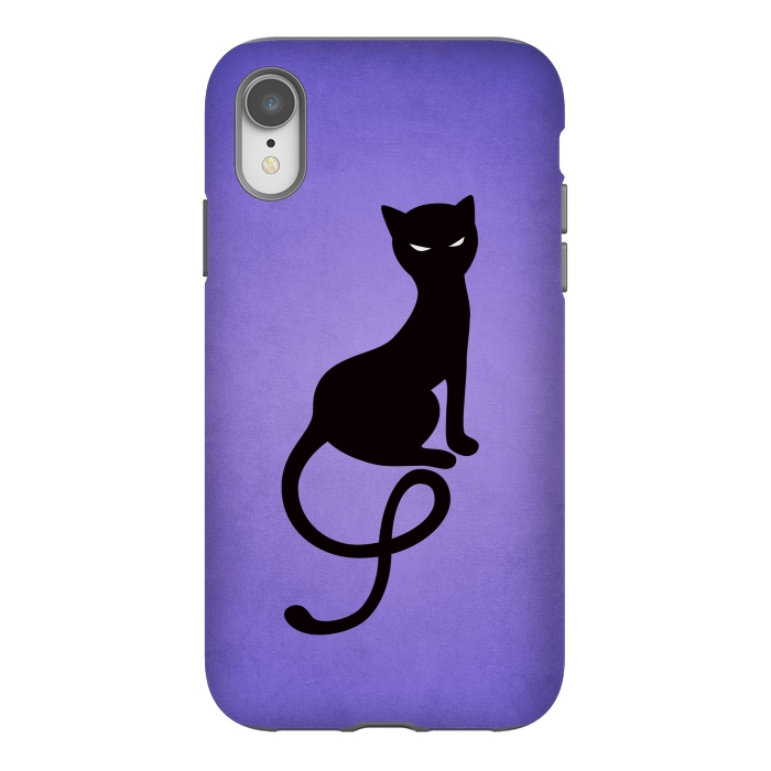 Purple Gracious Evil Black Cat