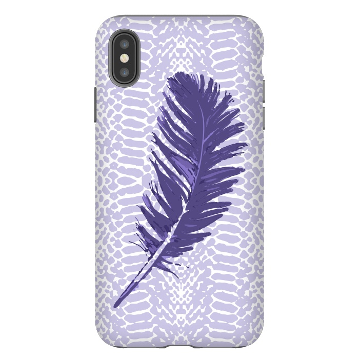 Violet feather