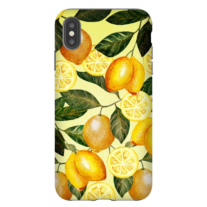 lemon iphone xs max case