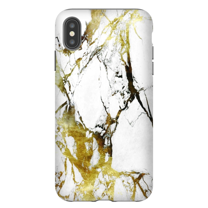 Gold-White Marble Impress