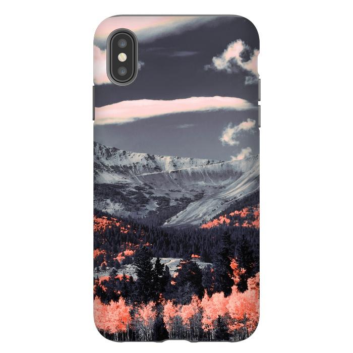 Vibrant mountainous landscape