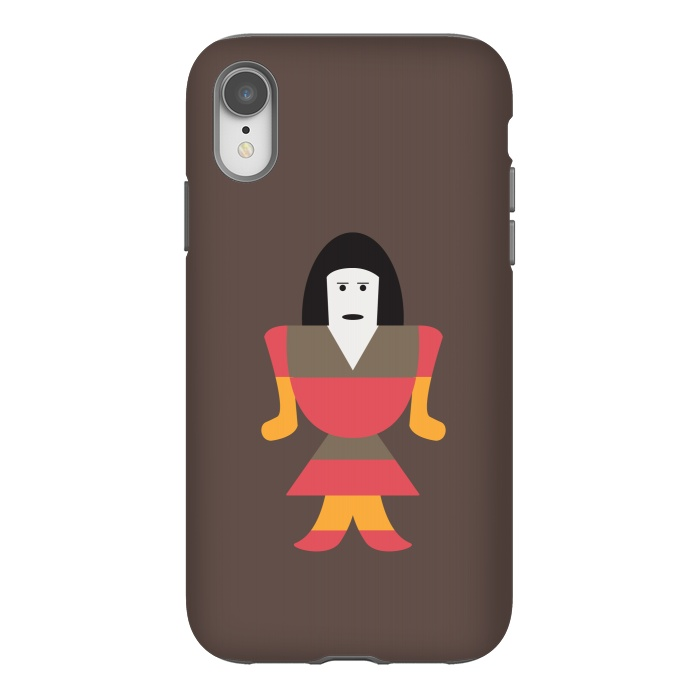 detailed look b4100 72963 iPhone Xr Cases funny woman by TMSarts | ArtsCase