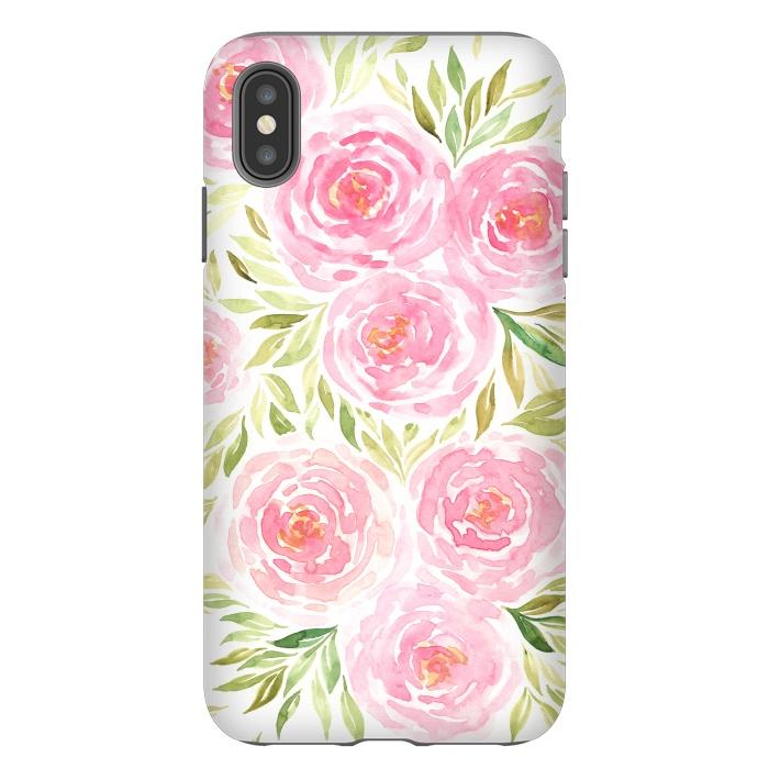 Pastel Pink Peony Floral Print