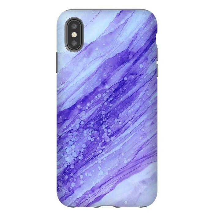 Purple Marble Print