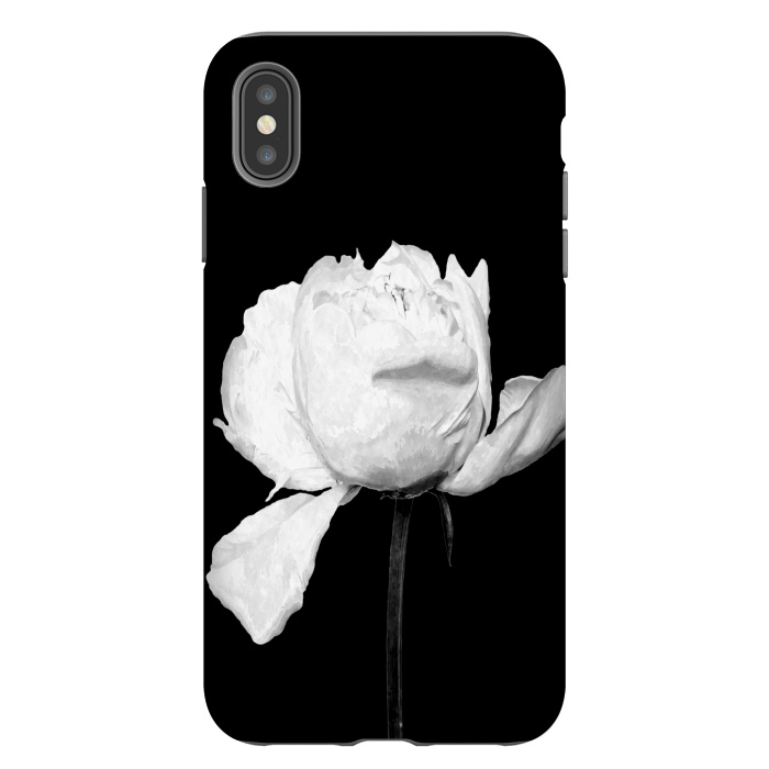 Iphone Xs Max Cases White Peony By Alemi Artscase