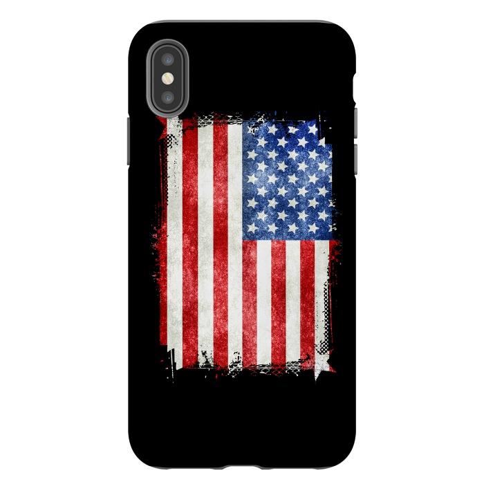 American Flag Grunge Style