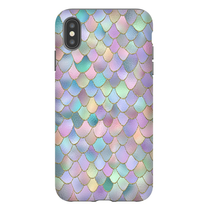 Lavender and Pink Wonky Mermaid Scales