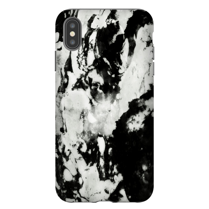 iphone xs max case black marble
