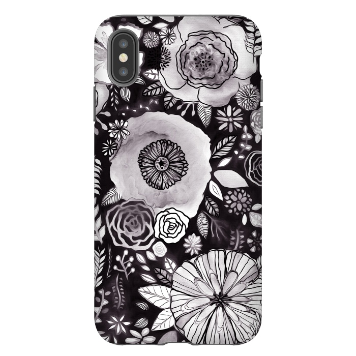 Black & White Floral Mix