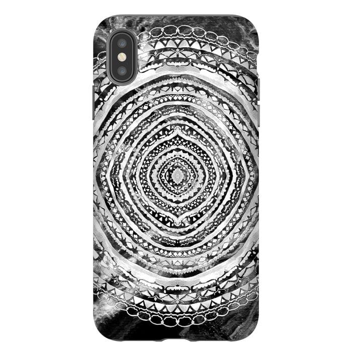 Black & White Marbling Mandala