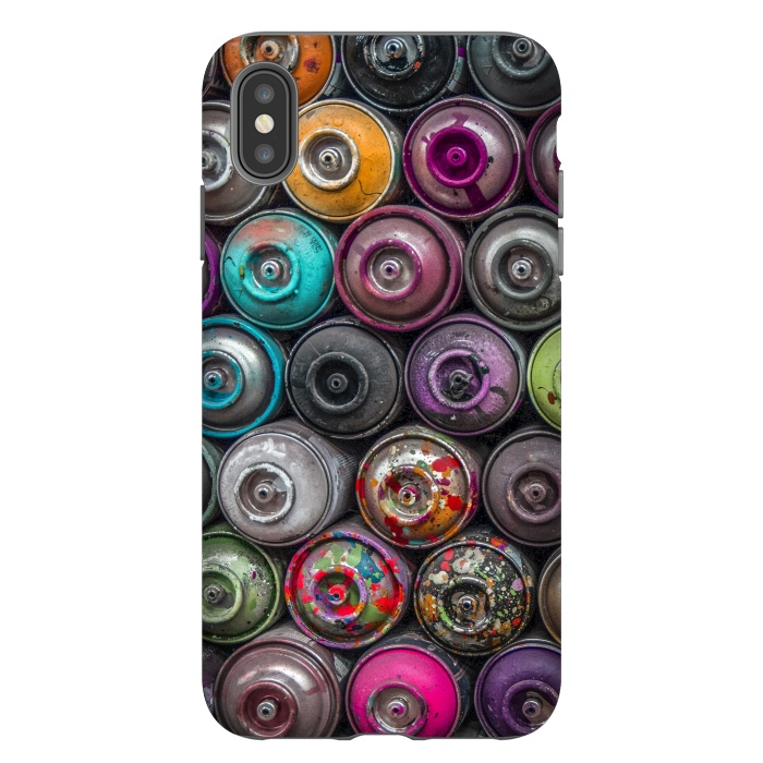 iPhone Xs Max Cases Spray Paint by Andrea Haase | ArtsCase
