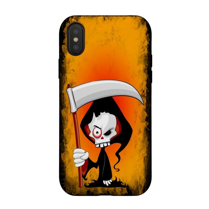 Grim Reaper Creepy Cartoon Character