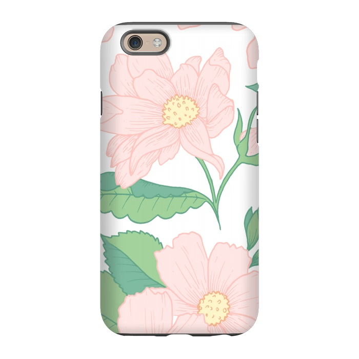10ac8e8d74 Pastel Pink Wildflowers Iphone 6 6s Cases Artscase