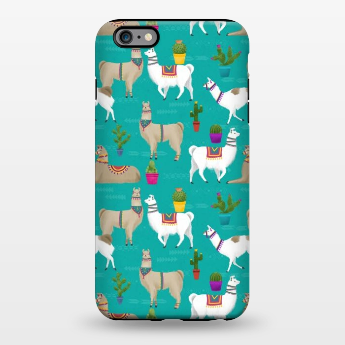 info for 445a1 9d6b2 iPhone 6/6s plus Cases Llama Drama by Noonday Design | ArtsCase