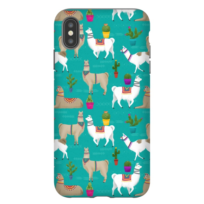 iphone xs case llama
