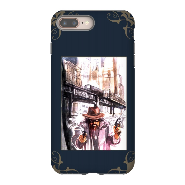 new arrivals 527e4 b2f4a iPhone 8/7 plus Cases Western Personages by Max LeTamis | ArtsCase